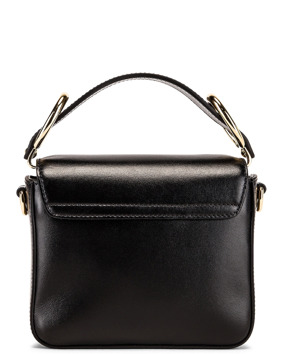 Image 3 of Chloe C Mini Box Bag in Black
