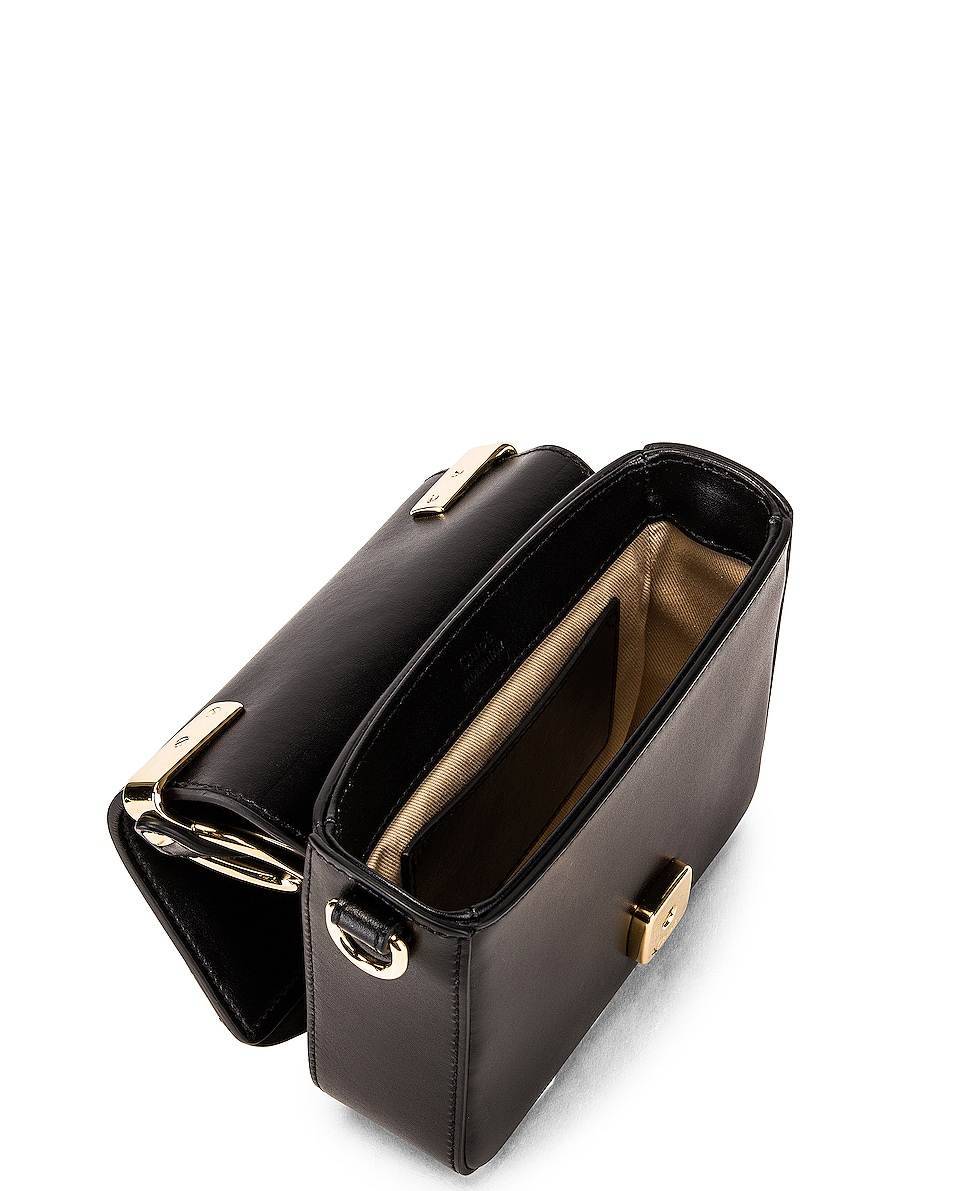 Image 5 of Chloe C Mini Box Bag in Black