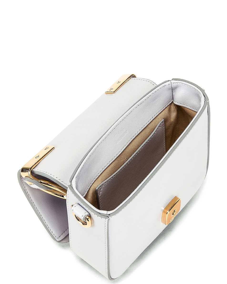 Image 5 of Chloe C Mini Box Bag in Light Cloud