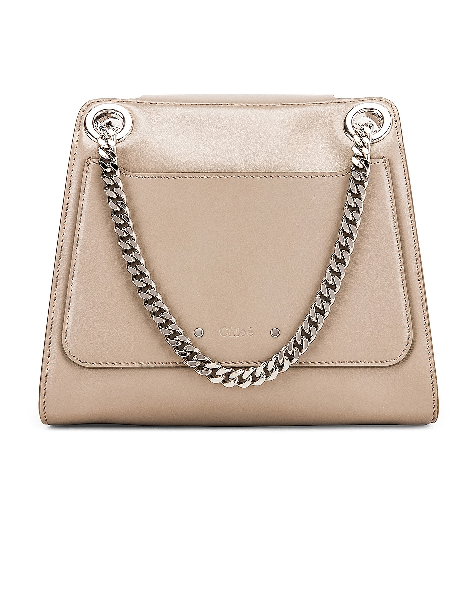 Image 3 of Chloe Small Leather Annie Bag in Motty Grey