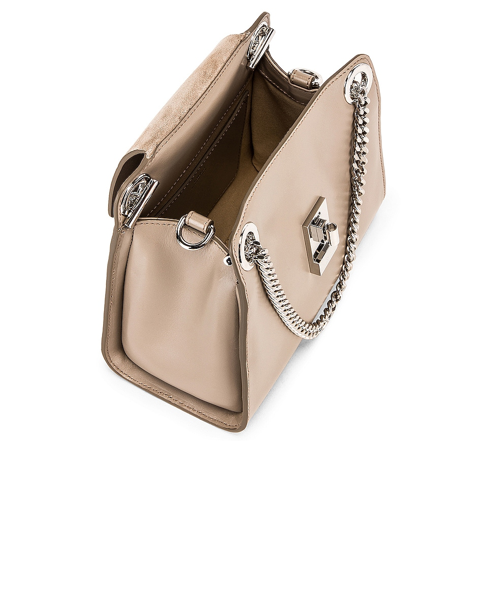 Image 5 of Chloe Small Leather Annie Bag in Motty Grey