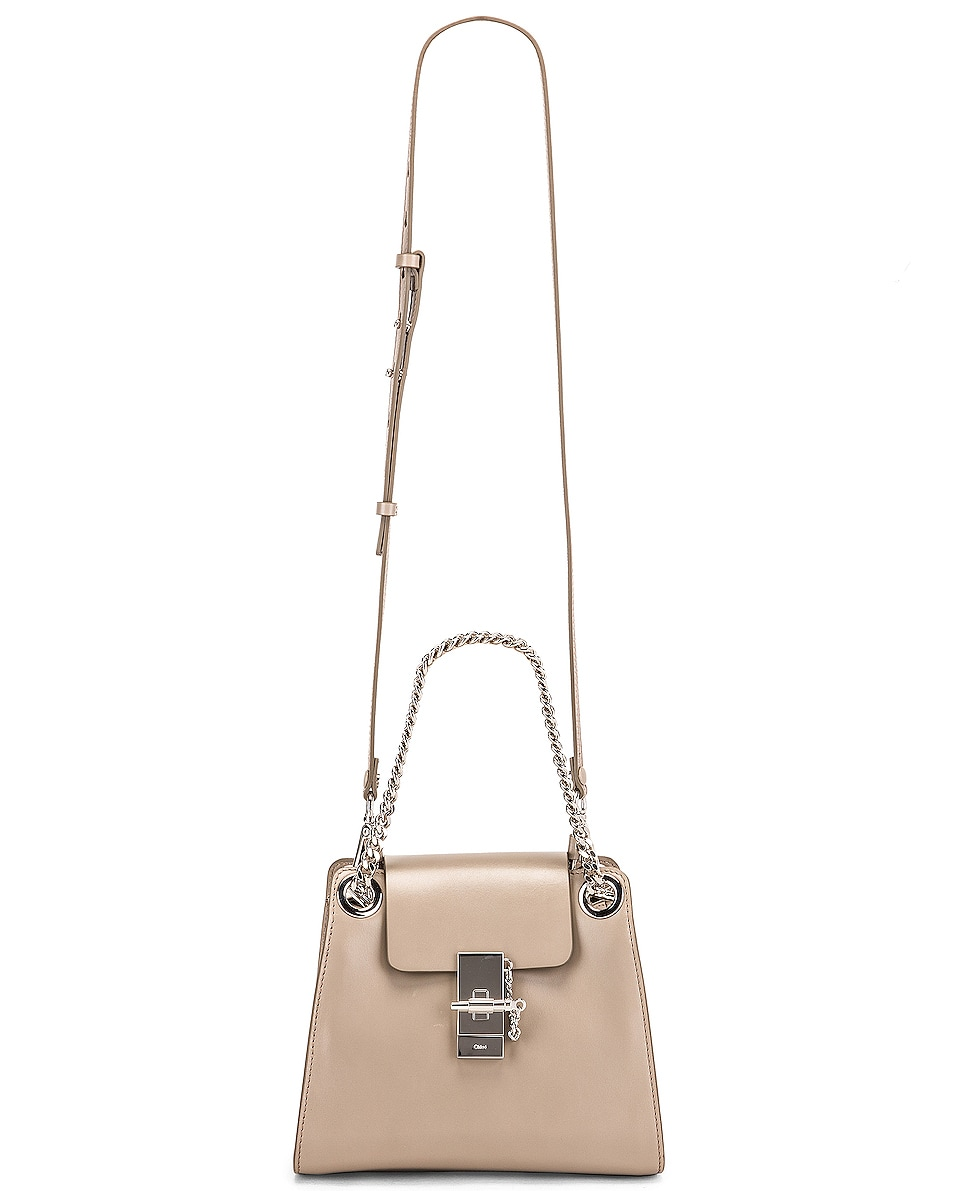 Image 6 of Chloe Small Leather Annie Bag in Motty Grey