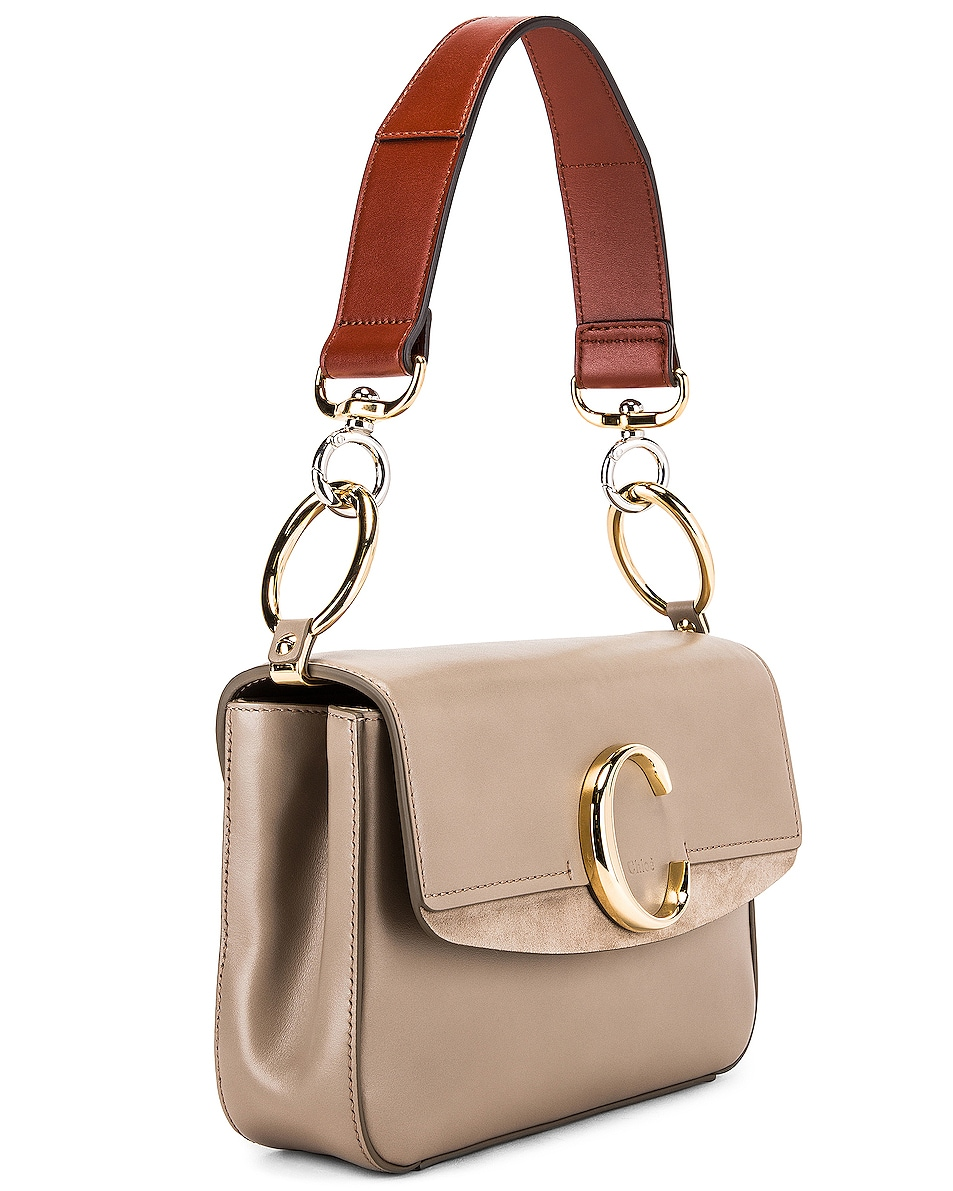 Image 3 of Chloe C Crossbody Bag in Motty Grey