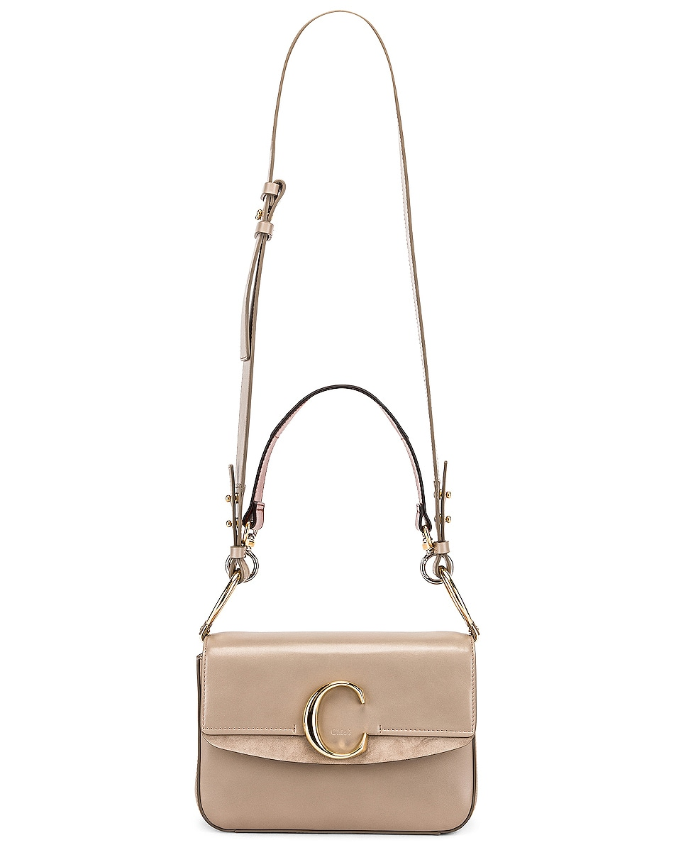 Image 5 of Chloe C Crossbody Bag in Motty Grey
