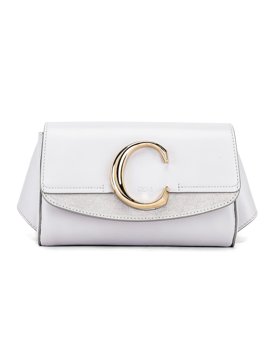 Image 1 of Chloe C Belt Bag in Light Cloud