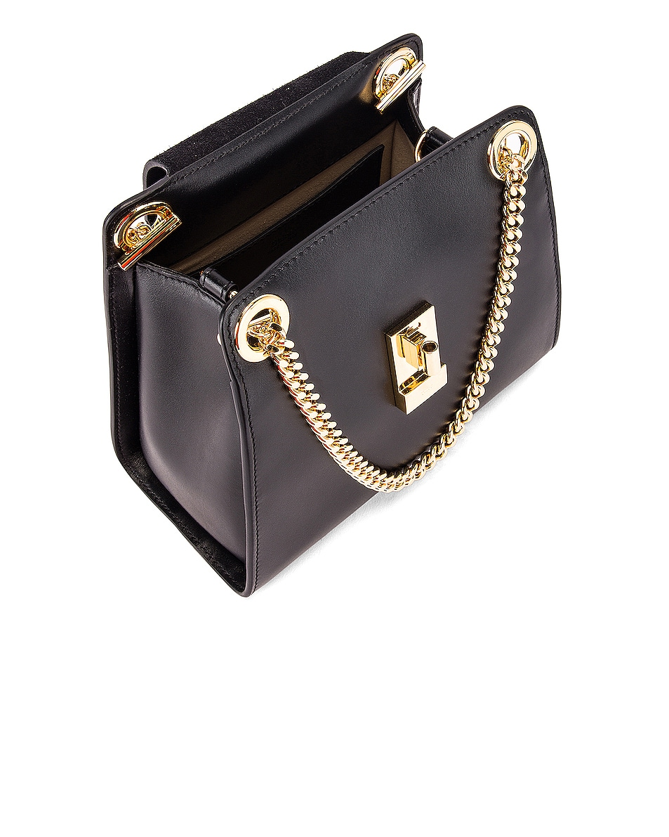 Image 5 of Chloe Small Leather Annie Bag in Black