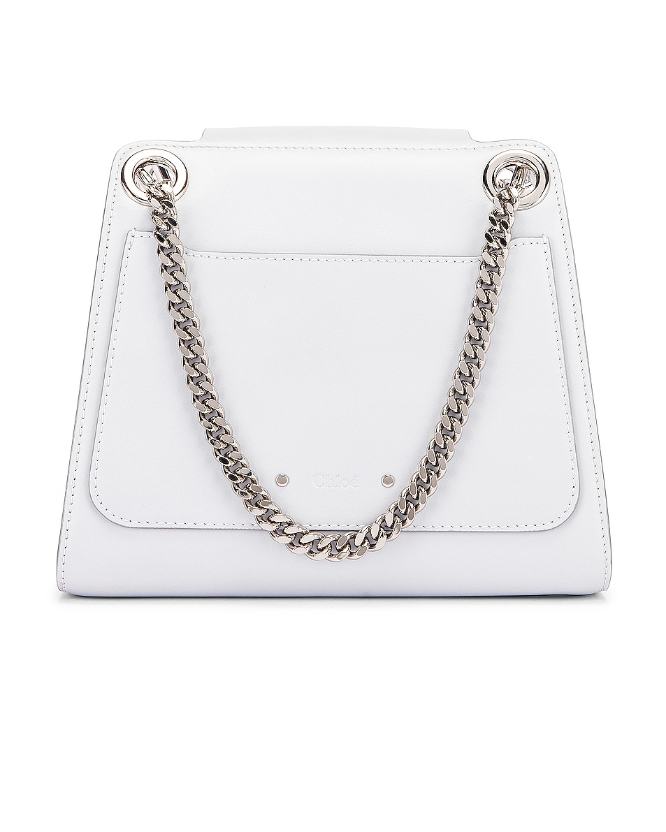 Image 3 of Chloe Small Leather Annie Bag in Light Cloud