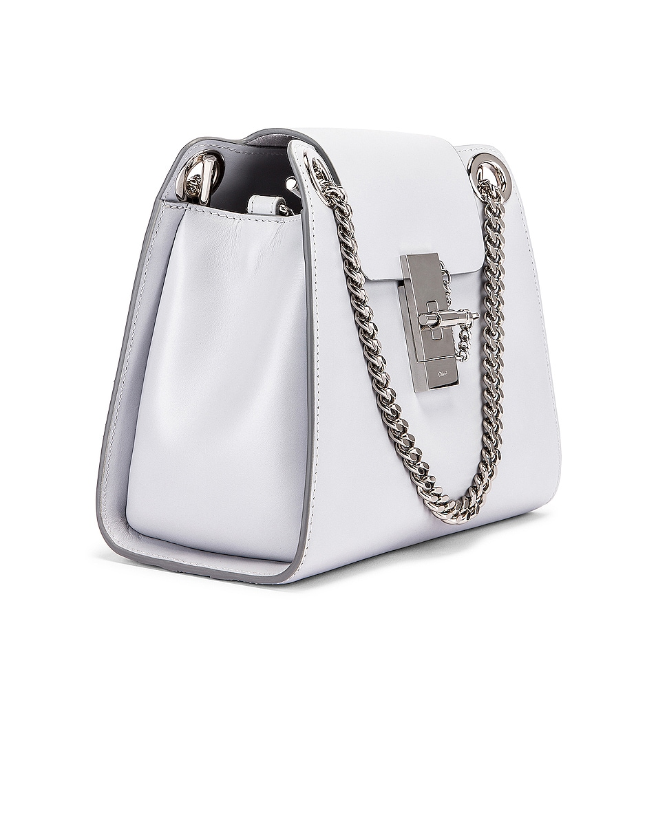 Image 4 of Chloe Small Leather Annie Bag in Light Cloud