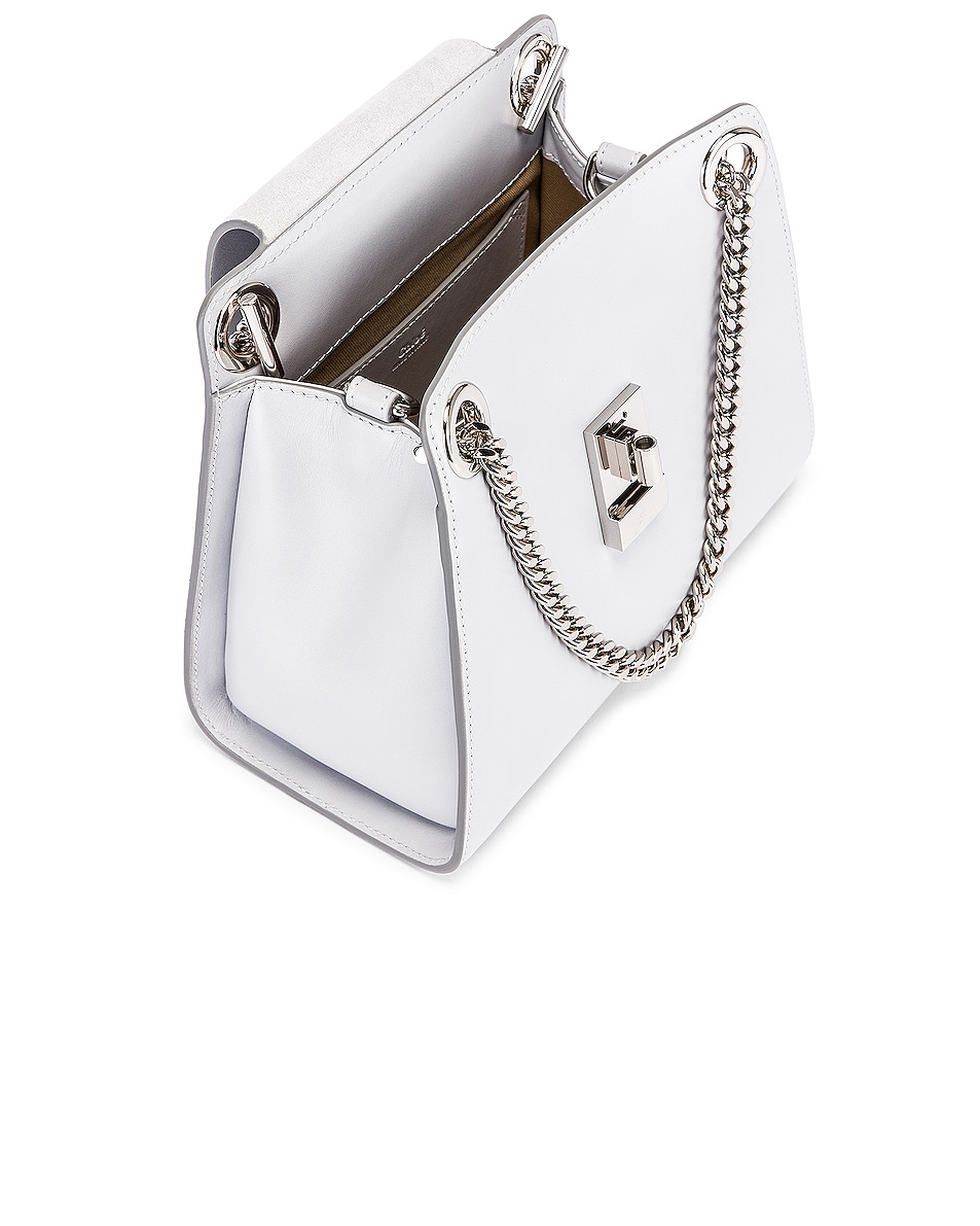 Image 5 of Chloe Small Leather Annie Bag in Light Cloud