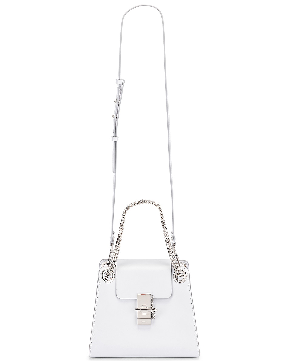 Image 6 of Chloe Small Leather Annie Bag in Light Cloud
