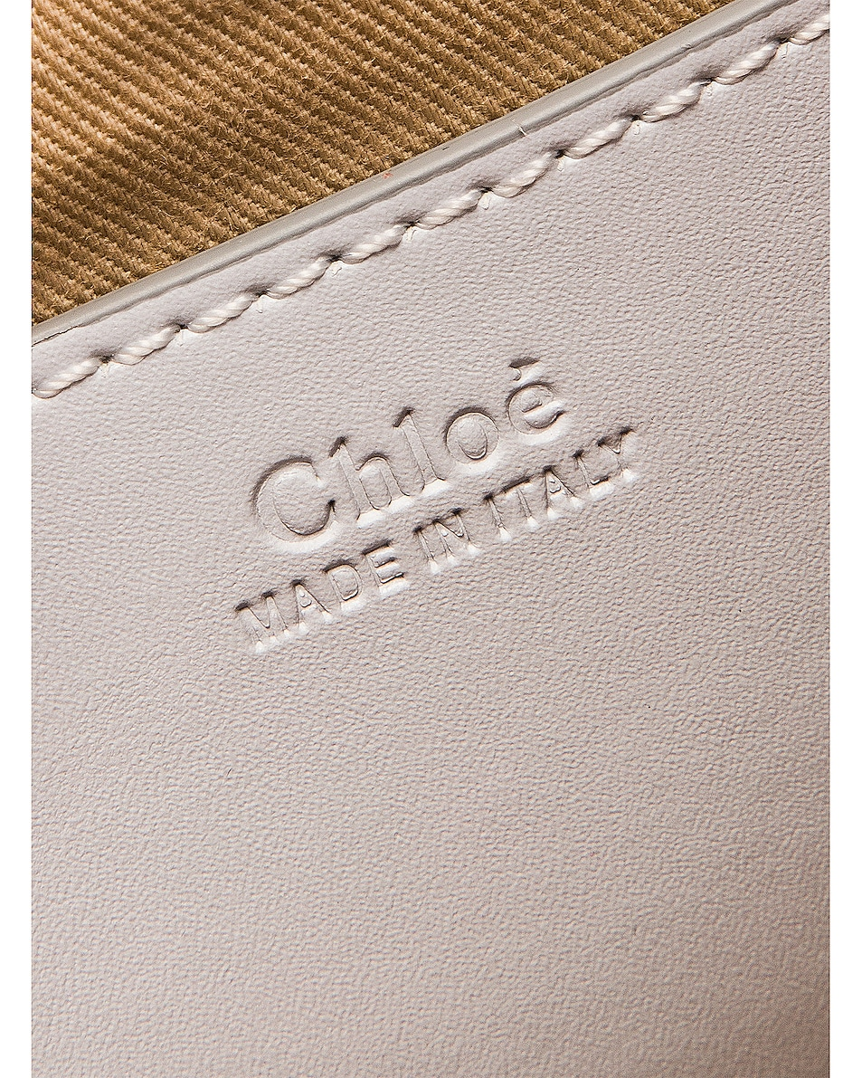 Image 7 of Chloe Small Leather Annie Bag in Light Cloud