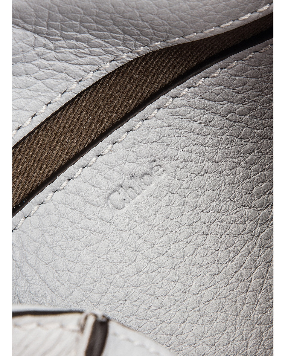 Image 6 of Chloe Small Marcie Grained Calfskin Belt Bag in Light Cloud