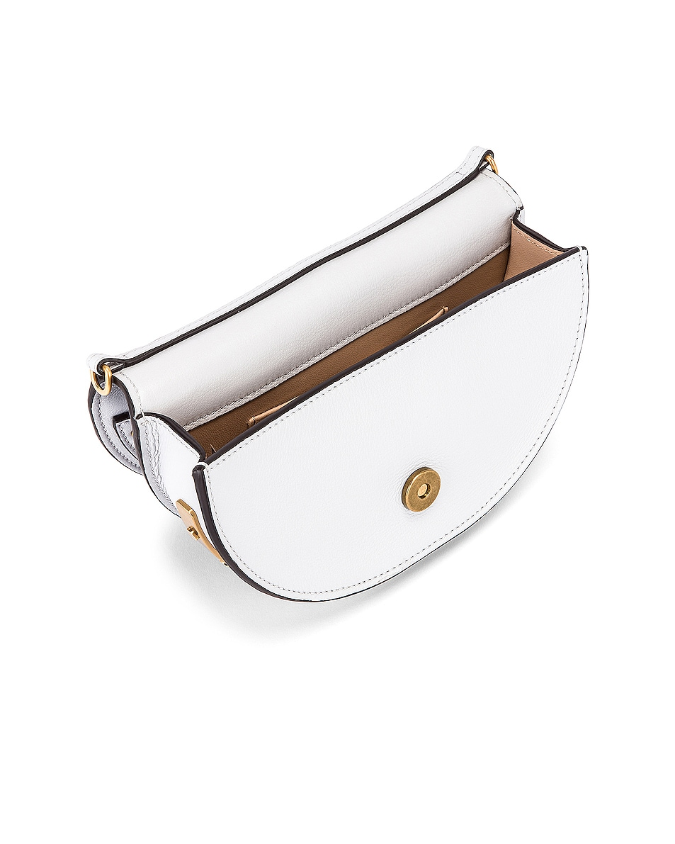 Image 5 of Chloe Small Nile Leather Minaudiere in Light Cloud
