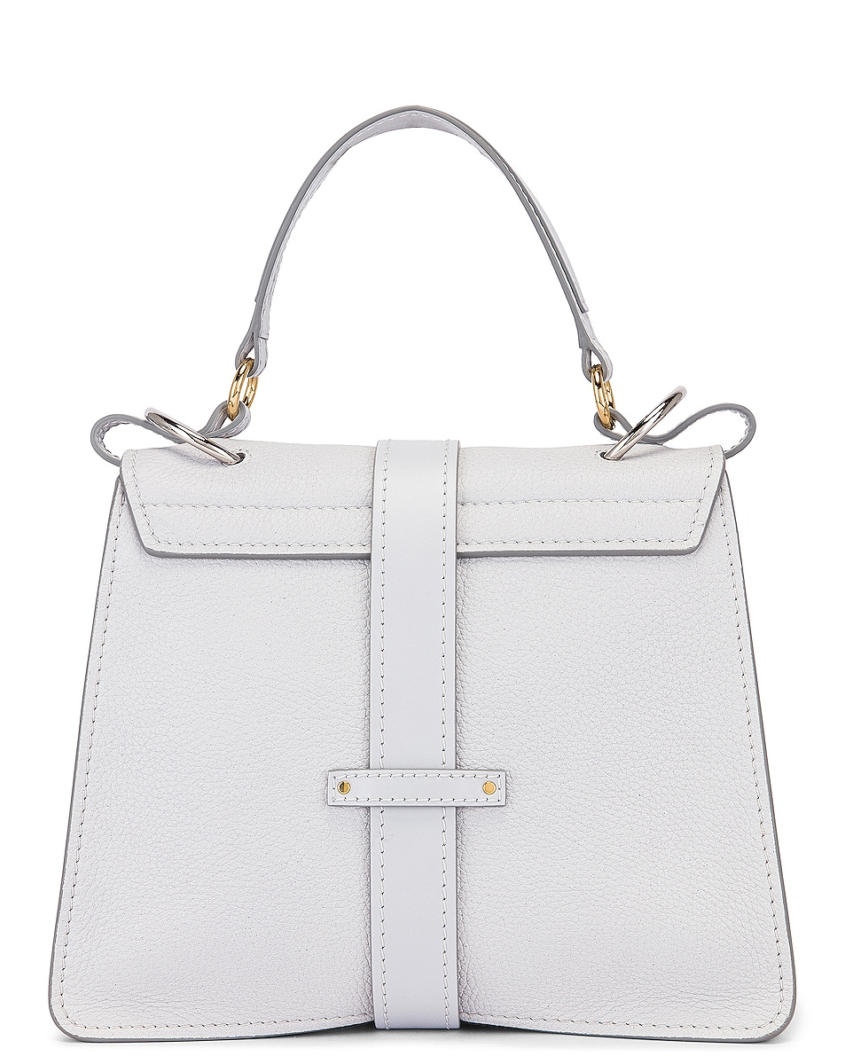 Image 2 of Chloe Medium Aby Leather Bag in Light Cloud