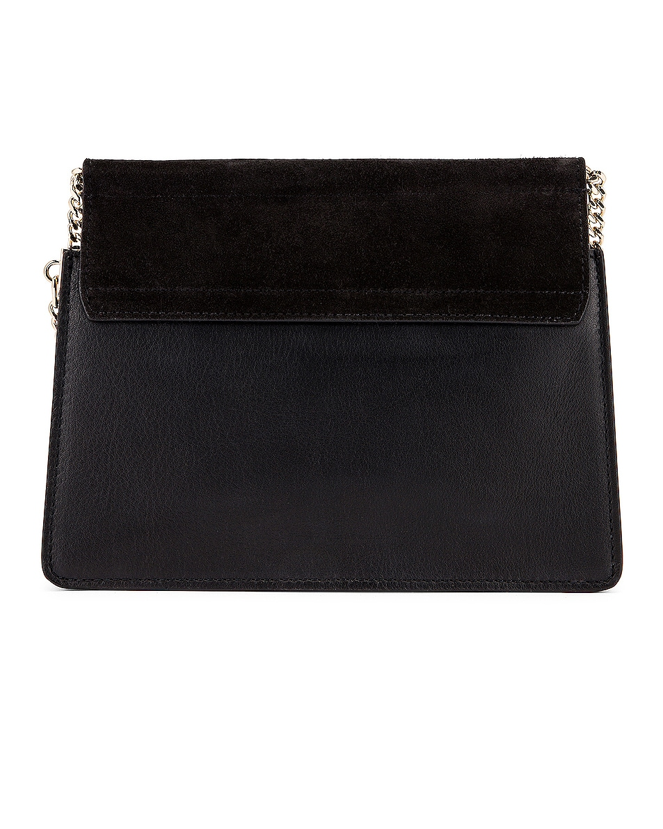 Image 3 of Chloe Mini Faye Shoulder Bag in Black