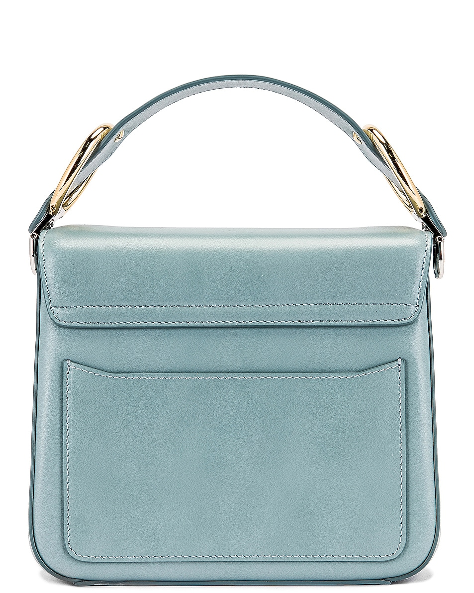 Image 3 of Chloe Small C Box Bag in Faded Blue