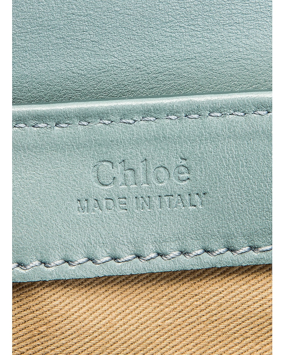 Image 7 of Chloe Small C Box Bag in Faded Blue