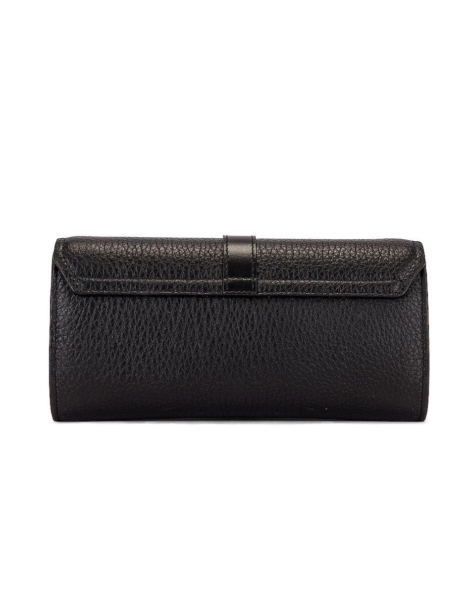 Image 3 of Chloe Aby Wallet on Chain Bag in Black