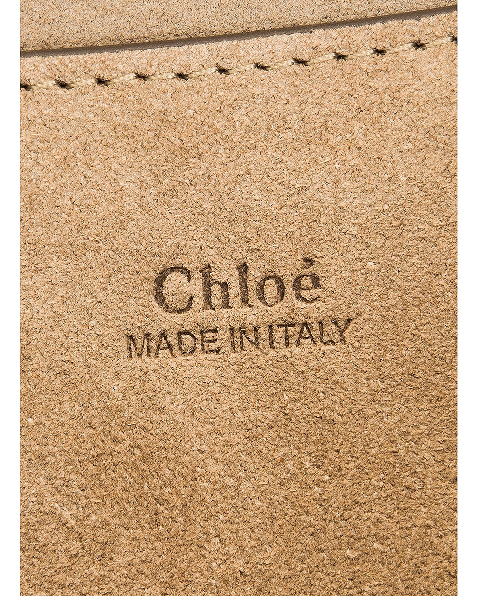Image 7 of Chloe Mini Faye Shoulder Bag in Classic Tobacco