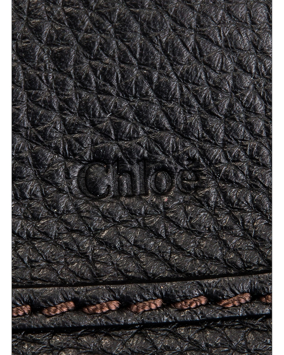 Image 7 of Chloe Mini Marcie Double Carry Bag in Black