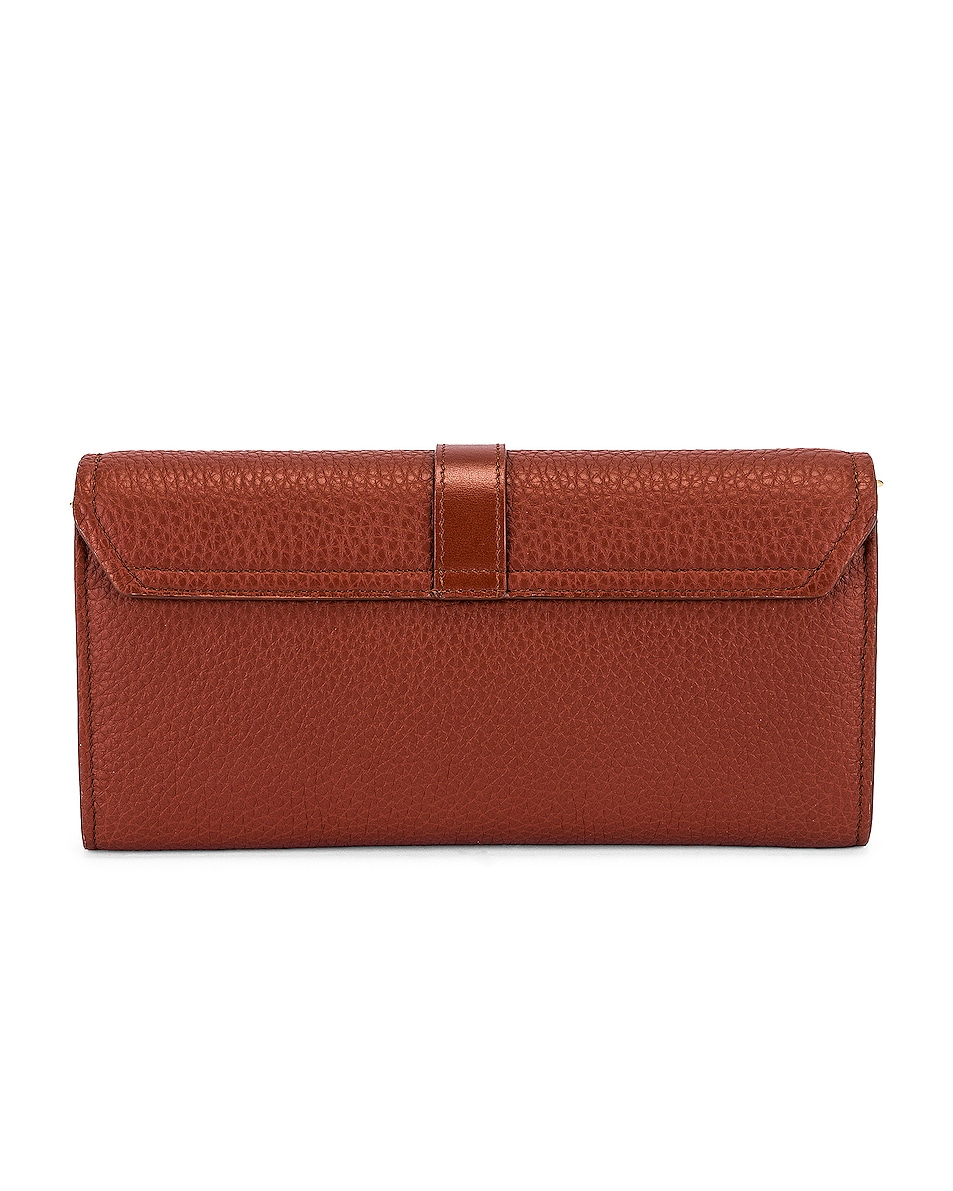 Image 3 of Chloe Aby Wallet on Chain Bag in Sepia Brown