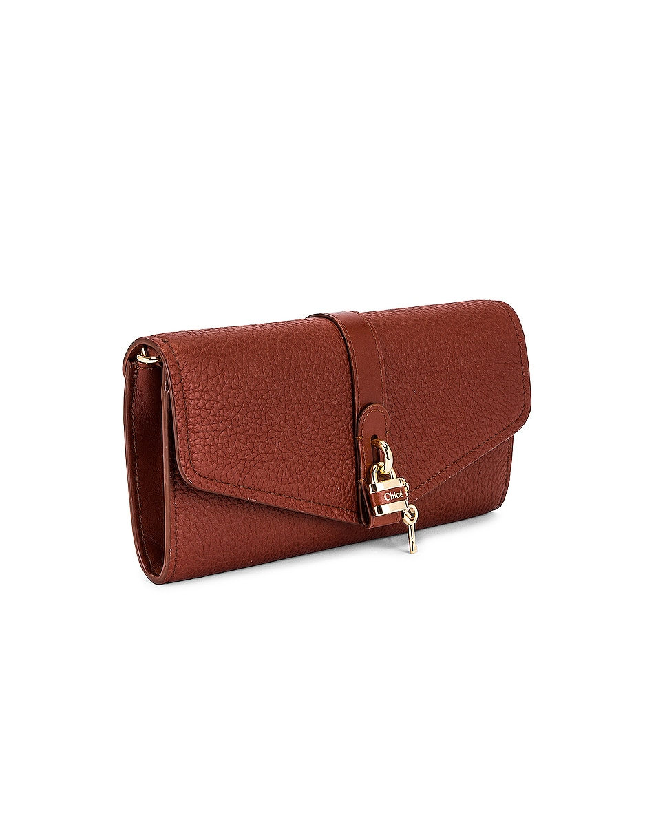 Image 4 of Chloe Aby Wallet on Chain Bag in Sepia Brown