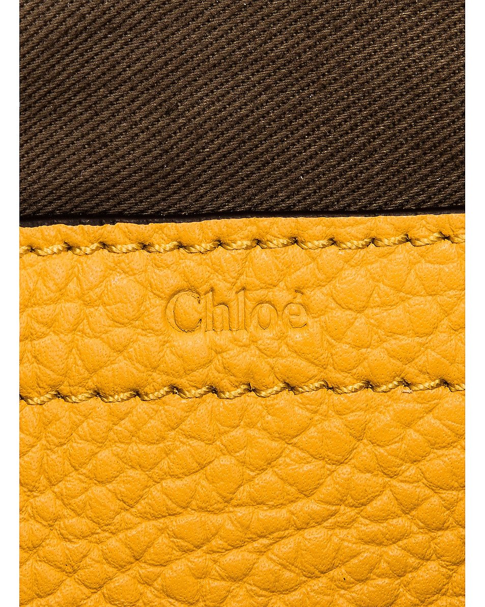Image 7 of Chloe Mini Marcie Double Carry Bag in Honey Gold