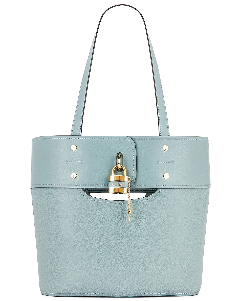 Image 1 of Chloe Small Aby Tote in Faded Blue
