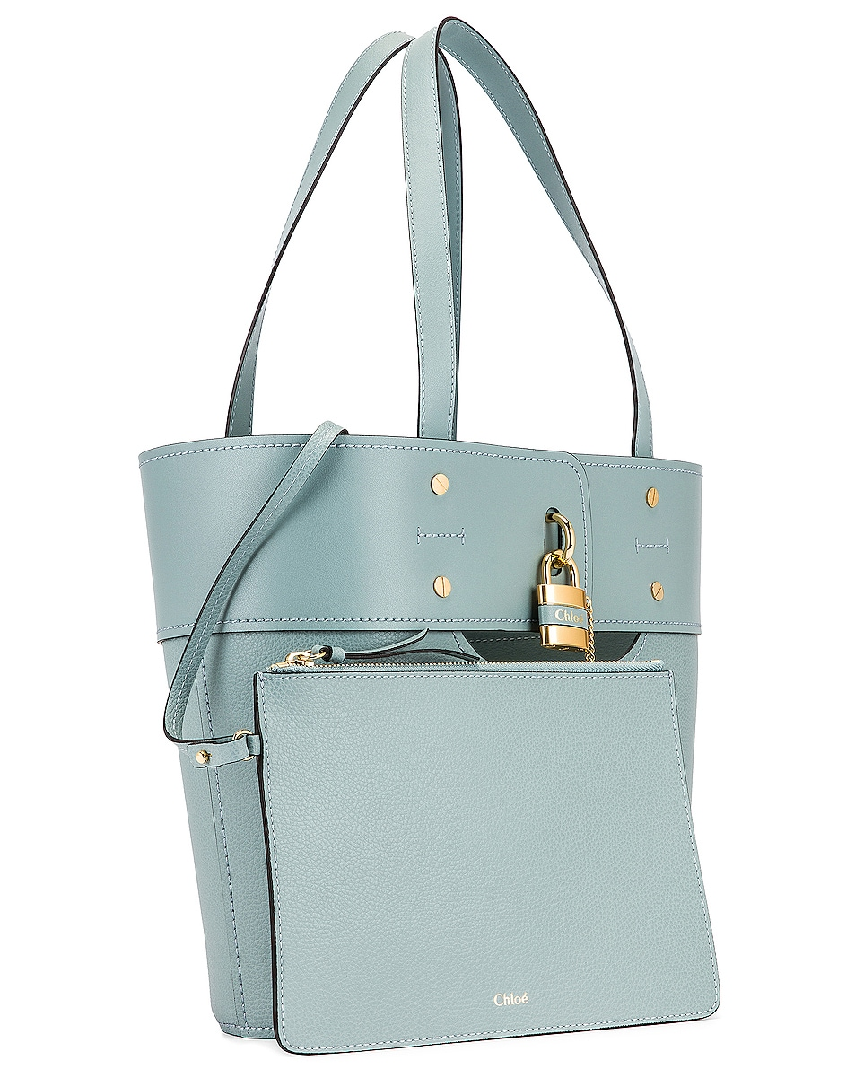 Image 4 of Chloe Small Aby Tote in Faded Blue