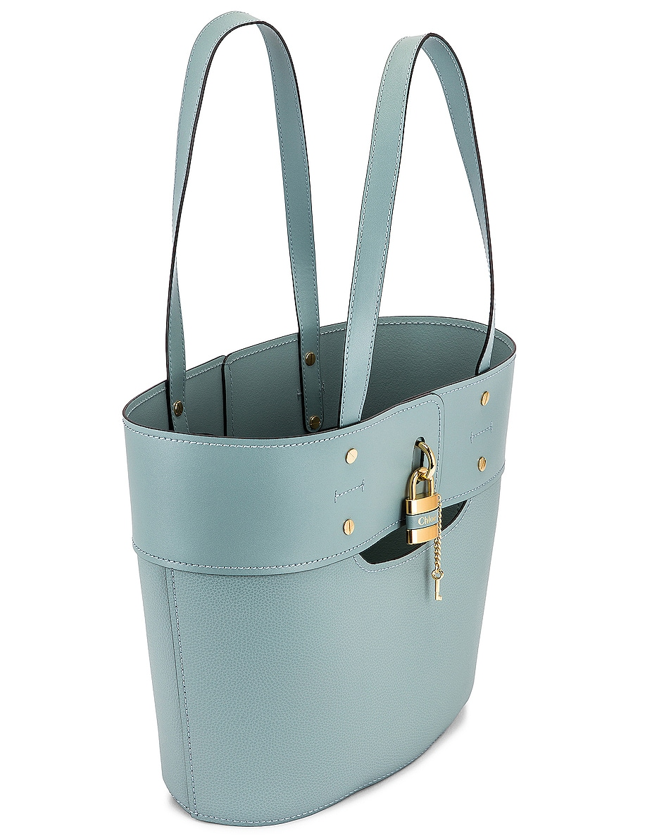 Image 5 of Chloe Small Aby Tote in Faded Blue