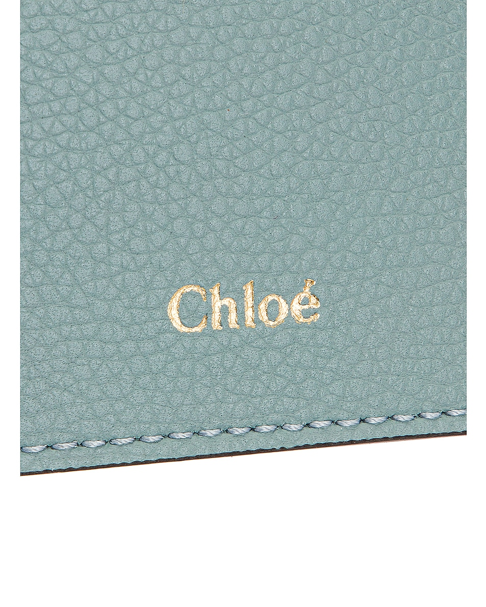 Image 6 of Chloe Small Aby Tote in Faded Blue