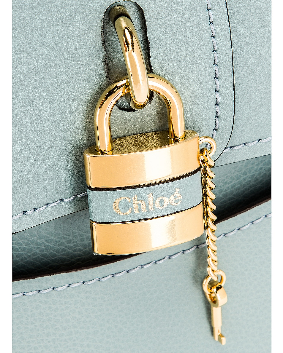 Image 7 of Chloe Small Aby Tote in Faded Blue