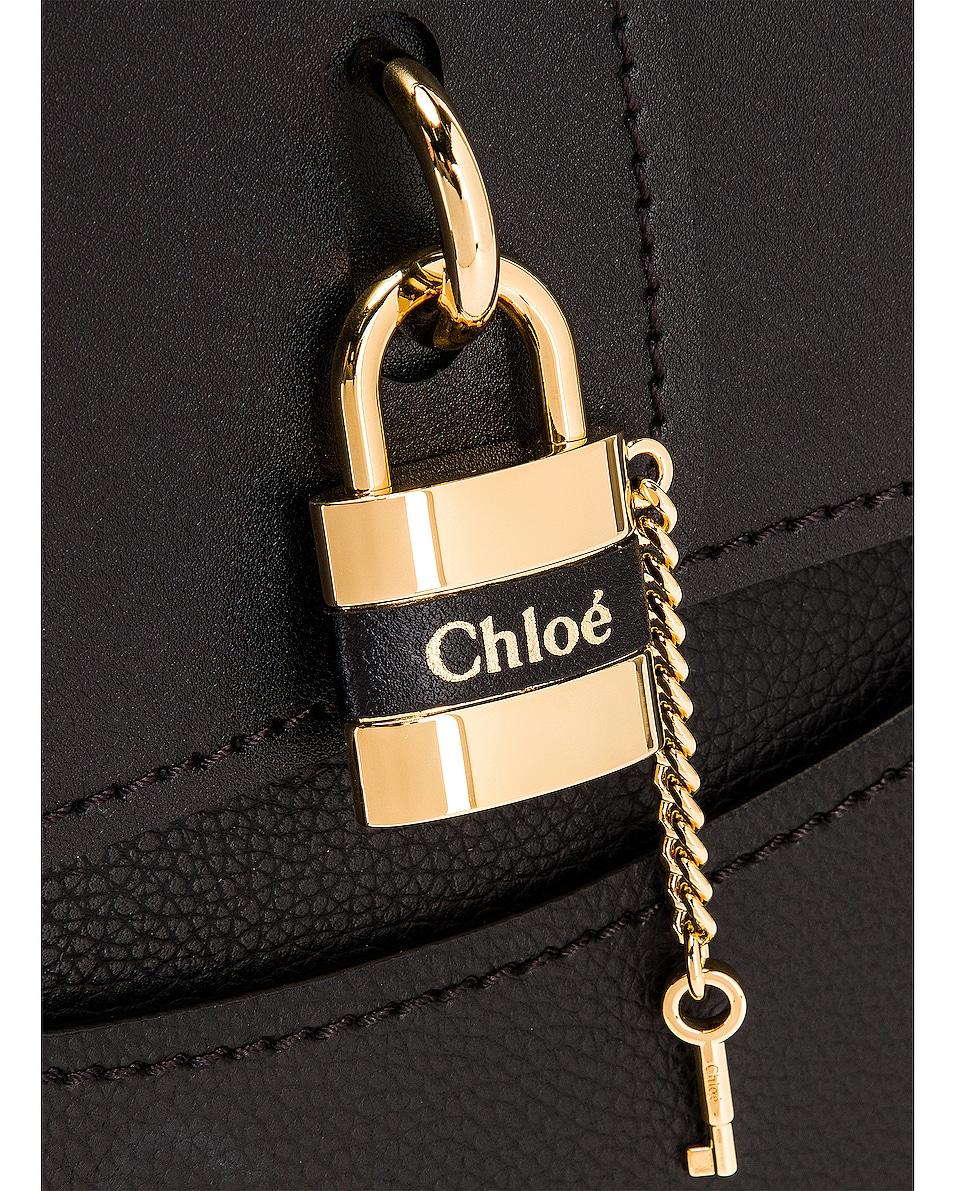 Image 7 of Chloe Medium Aby Tote in Black