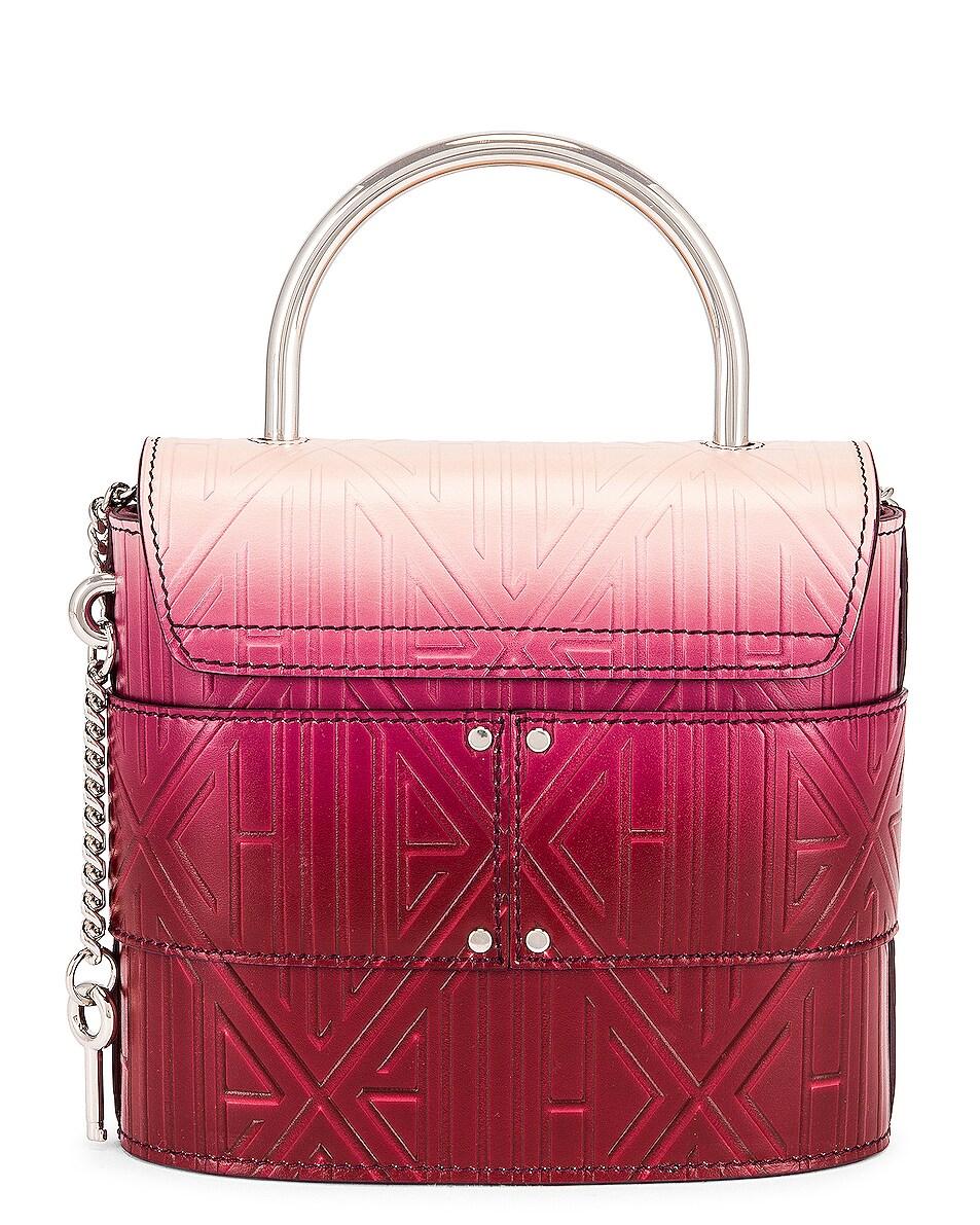 Image 3 of Chloe Abylock Embossed Monogram Ombre Crossbody Bag in Brown & Purple
