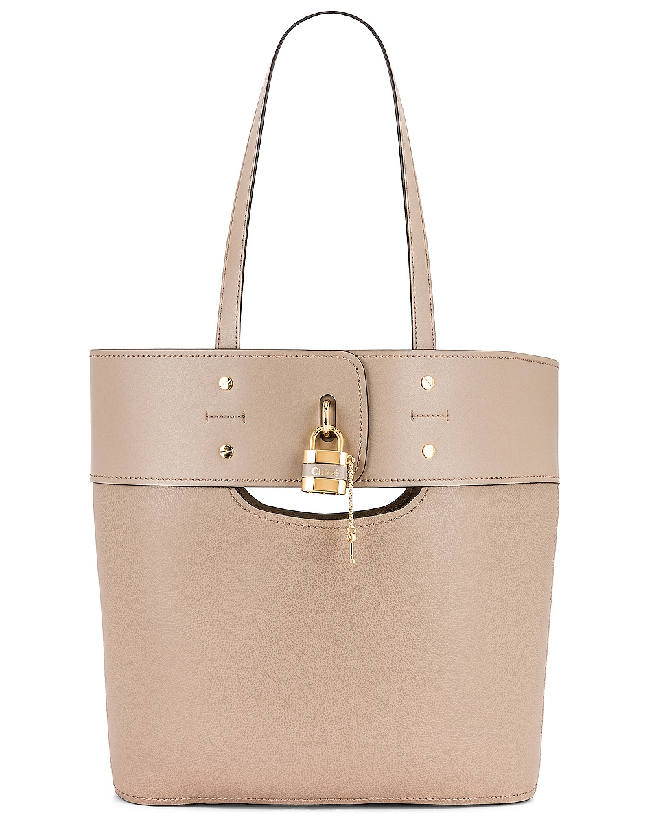 Image 1 of Chloe Medium Aby Tote in Motty Grey