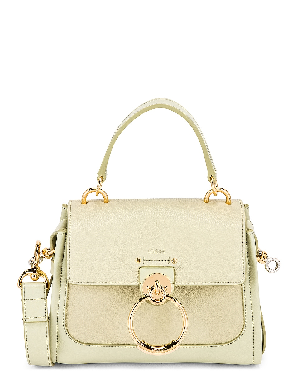 Image 1 of Chloe Mini Tess Day Bag in Light Eucalyptus