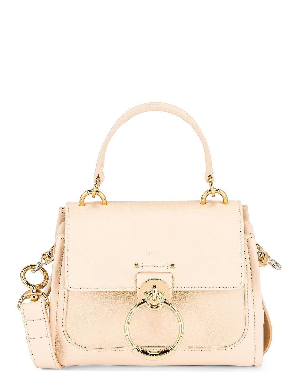Image 1 of Chloe Mini Tess Day Bag in Sweet Beige