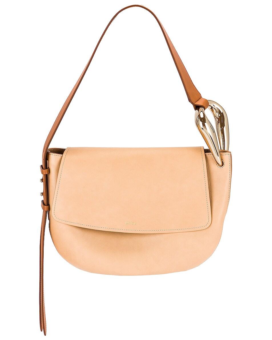 Image 1 of Chloe Kiss Hobo Bag in Sandy Beige