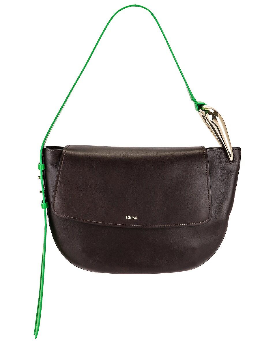 Image 1 of Chloe Kiss Hobo Bag in Off Brown