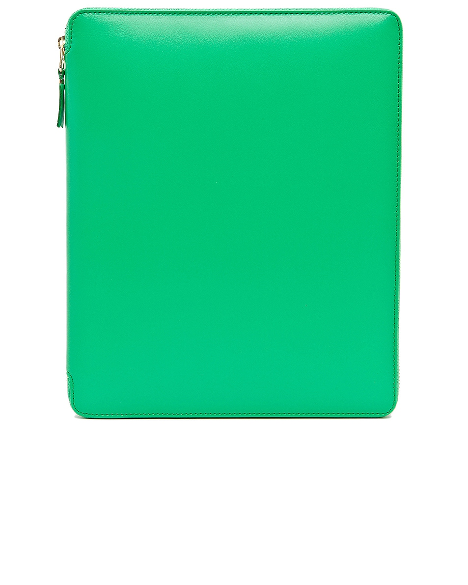 Image 1 of Comme Des Garcons Classic iPad Case in Green