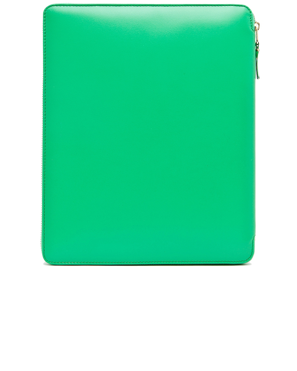 Image 2 of Comme Des Garcons Classic iPad Case in Green