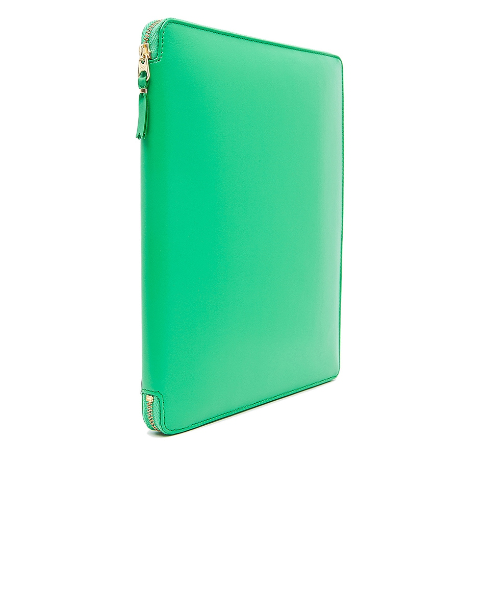 Image 3 of Comme Des Garcons Classic iPad Case in Green