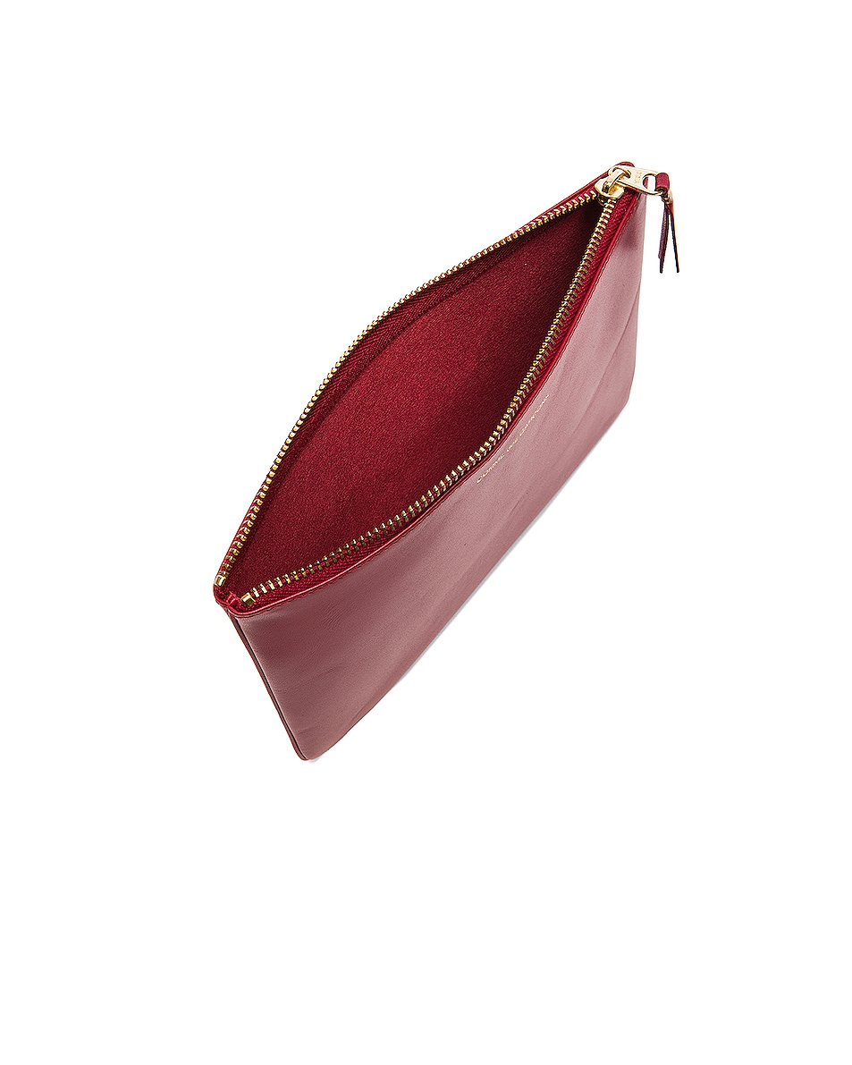 Image 4 of Comme Des Garcons Classic Pouch in Red