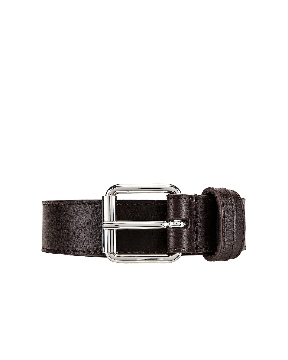 Image 3 of Comme Des Garcons Classic Leather Line B Belt in Brown