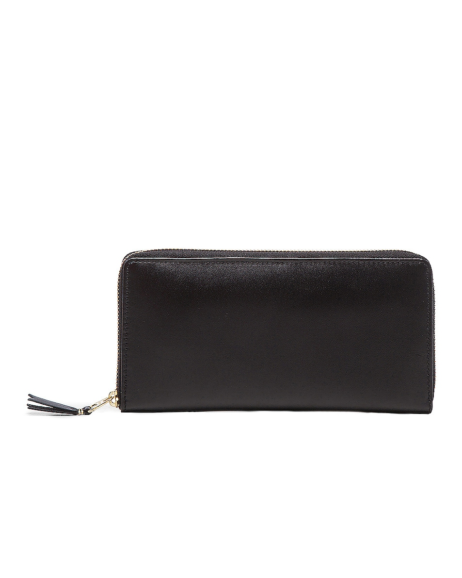 Image 1 of Comme Des Garcons Classic Long Wallet in Black