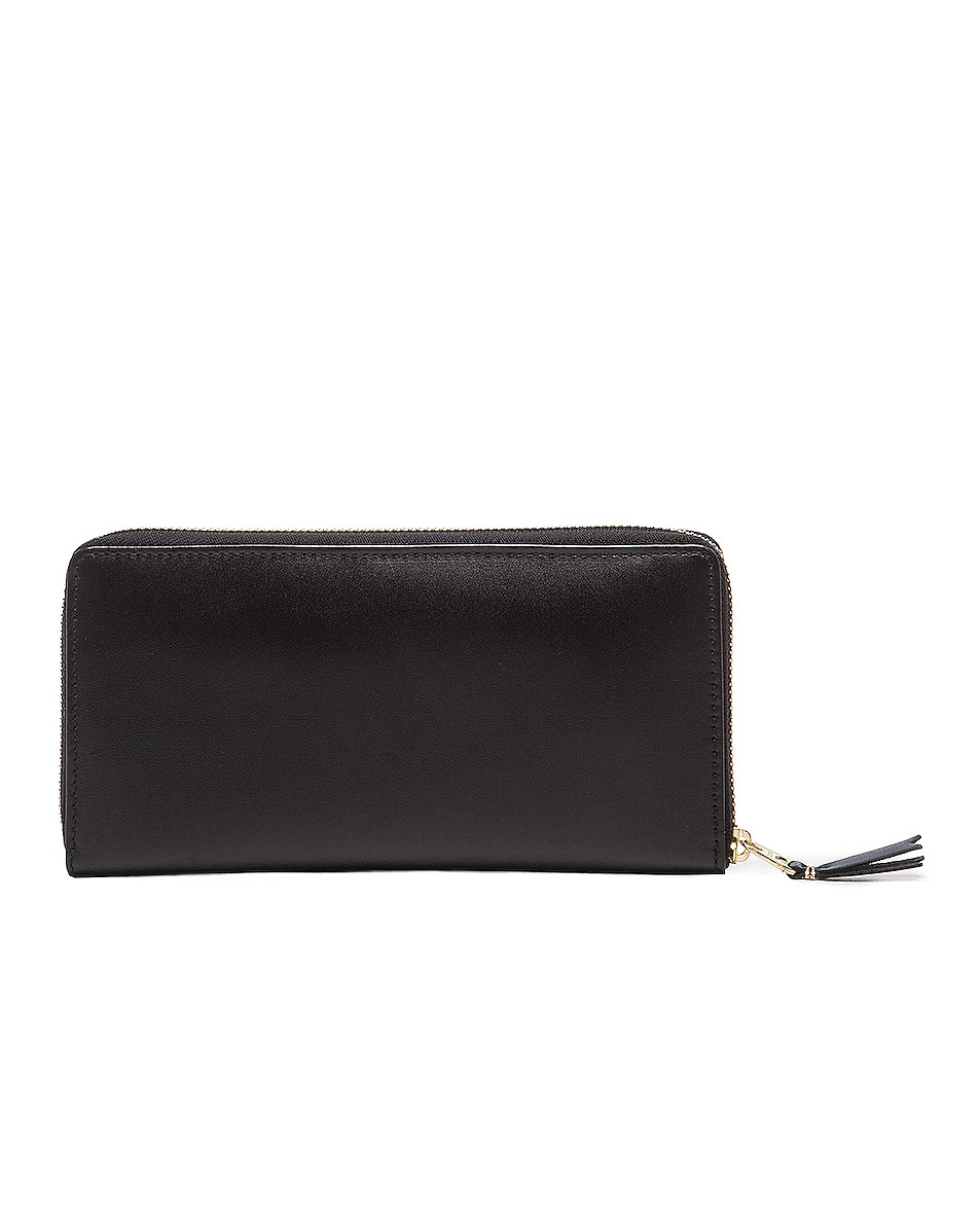 Image 2 of Comme Des Garcons Classic Long Wallet in Black