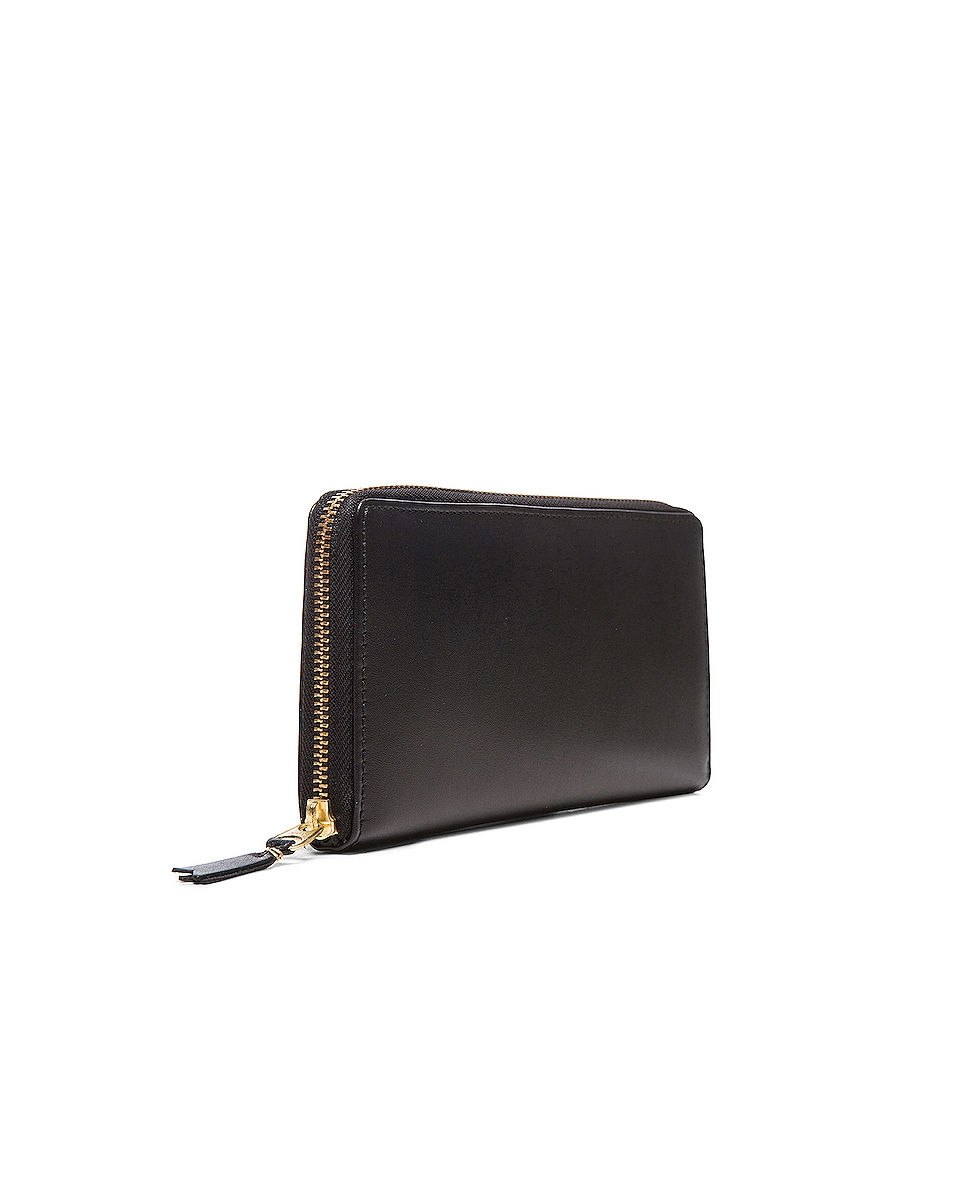 Image 3 of Comme Des Garcons Classic Long Wallet in Black