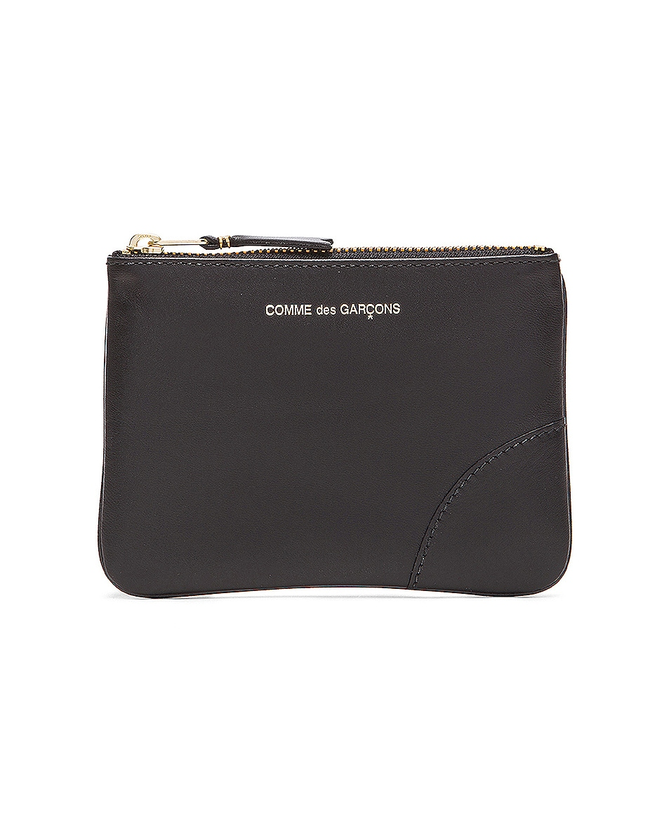 Image 1 of Comme Des Garcons Classic Small Pouch in Black