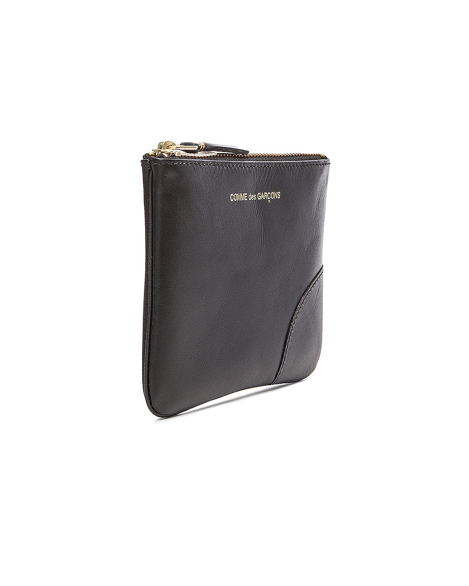 Image 3 of Comme Des Garcons Classic Small Pouch in Black