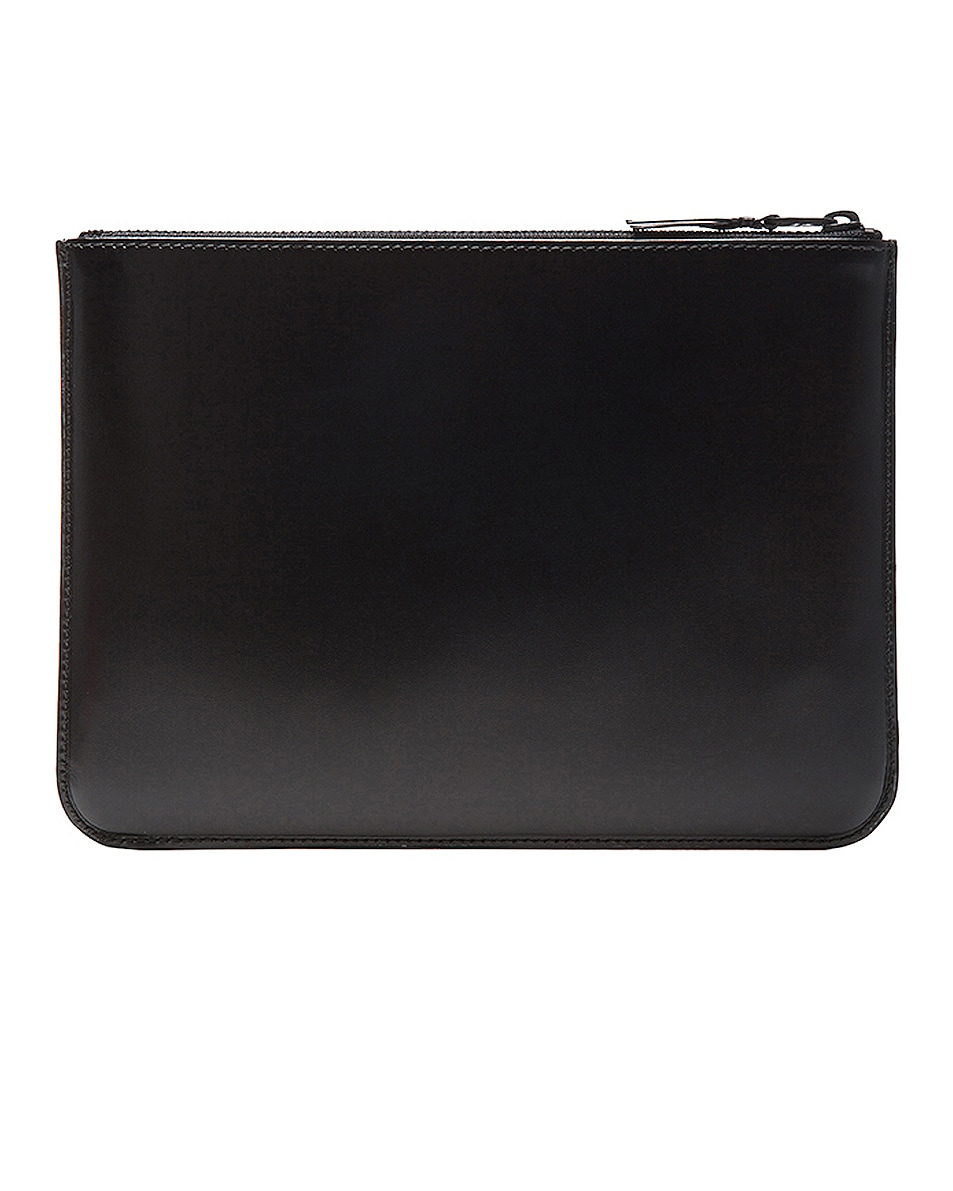 Image 2 of Comme Des Garcons Pouch in Very Black